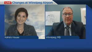 Masks now mandatory at Winnipeg's airport