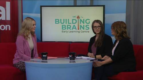 Building an education foundation with building brains | Watch News Videos Online