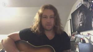 Country rock singer Cory Marks performs 'Outlaws and Outsiders'
