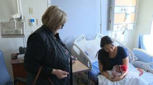 Volunteer knits thousands of baby hats for newborns at Jewish General Hospital