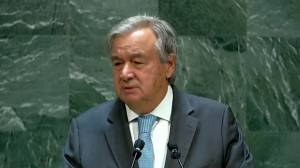 Multilateral global challenges must be addressed 'together,' U.N. Secretary General says