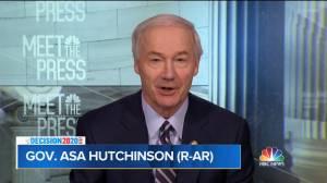 U.S. election: Arkansas governor says he expects Joe Biden to be next president (00:39)