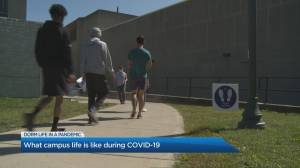 What campus life is like during the coronavirus pandemic