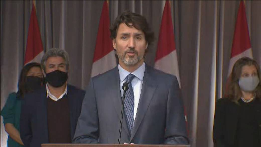 Click to play video 'Coronavirus: 'I do not want an election,' Trudeau says'