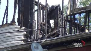 Attempted murder, arson charges laid following Peterborough apartment fire (01:08)