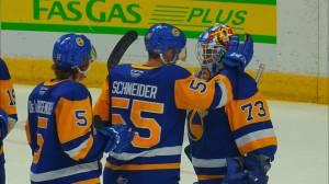 Historic WHL season coming to an end for the Saskatoon Blades (01:34)