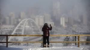 Brrrr! Edmonton plummets to around -45°C with wind chill