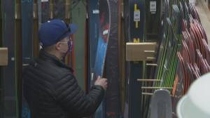 Winter sports spike alongside ski hill popularity, retailers notice surge in demand (01:54)