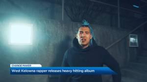 West Kelowna Rapper drops new album (01:37)