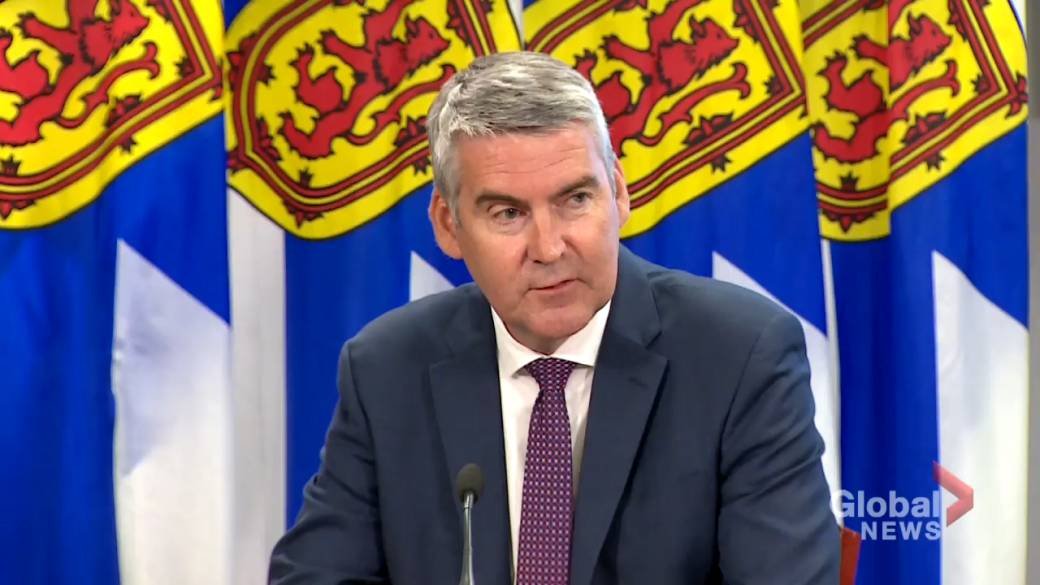Click to play video 'Premier Stephen McNeil stepping down as leader of N.S.'