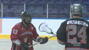 Kahnawake hosts international Lacrosse tournament (01:55)