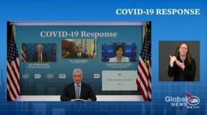 77% of Americans have received at least 1 COVID-19 vaccine: White House (00:43)