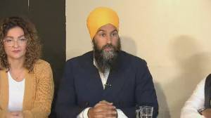Federal Election 2019: Jagmeet Singh says Trudeau has 'a lot to answer for', says he's concerned about 'repetitive behaviour'