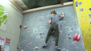 Kingston Bouldering Cooperative hold open house and free climb (01:08)