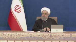 Iran's Rouhani urges Biden to return to nuclear deal as Trump leaves office (01:06)