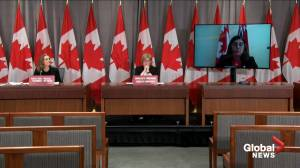 Coronavirus: Labour Minister details Bill C2 components including stay at home, caregiving benefits