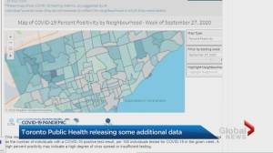 Toronto Public Health begins sharing more testing data for neighbourhoods