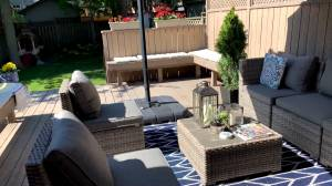 How to spruce up your outdoor living space this summer