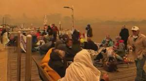 Australian military helping save people from raging bush fires