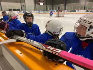 Girls take over the Kinsmen for hockey camp (02:11)