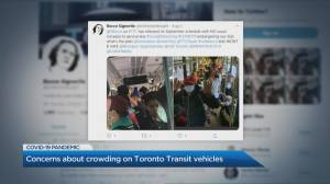 Crowded TTC scenes surface in photos floating around social media