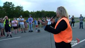 Nova Scotia MLA booted from caucus over New Brunswick border protest (02:07)