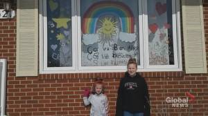 N.B. families finding creative ways to stay connected during COVID-19