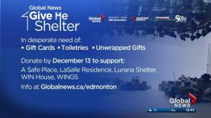 Domestic violence in Alberta and Give Me Shelter campaign