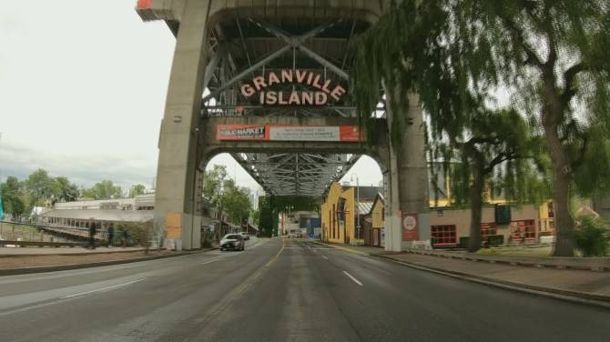 Click to play video: Granville Island suffers from lack of tourism