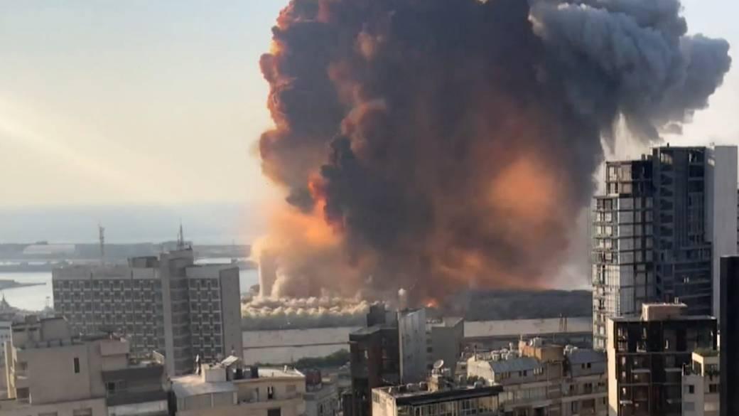 In photos: Beirut explosion destroys homes, devastates Lebanese capital - National | Globalnews.ca