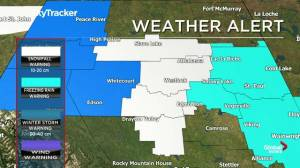 Edmonton early morning weather forecast: Friday, November 8, 2019
