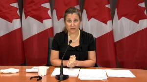 Freeland calls Trump administration the 'most protectionist administration in U.S. history'