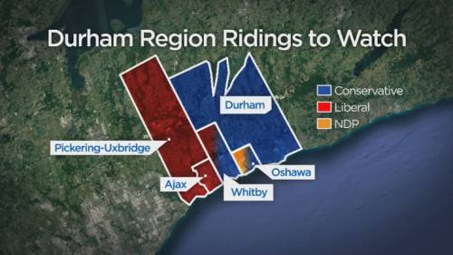 Canada election: Close races in Durham Region ahead of election, expert says | Watch News Videos Online