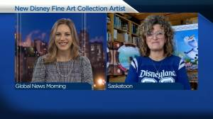 Saskatoon artist first Canadian to join exclusive Disney art group (04:16)