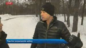 Staying safe while snowmobiling