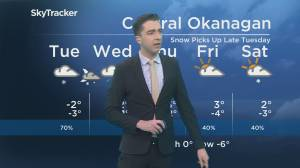 Kelowna Weather Forecast: February 3