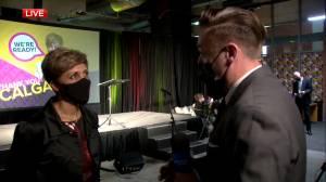'I'm optimistic': Calgary mayor-elect Jyoti Gondek speaks to Global News (04:50)
