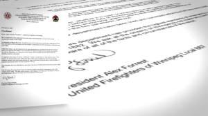 Mayor decries 'lack of communication' by Winnipeg firefighters union around racism (01:37)