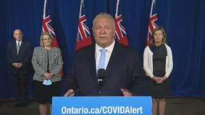 "Coronavirus: Premier Ford describes Etobicoke storage unit party as ""ridiculous"" (00:49)"