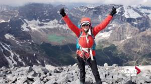 Edmonton senior scales 3,500 metres in Banff, raises $200k to help feed kids