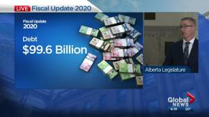 Alberta Finance Minister Travis Toews on $24.2B deficit