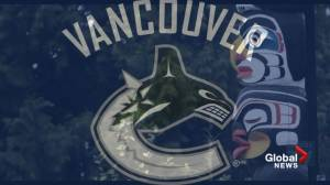 B.C. First Nations leader rejects 'cultural appropriation' accusation against Vancouver Canucks' logo (01:47)