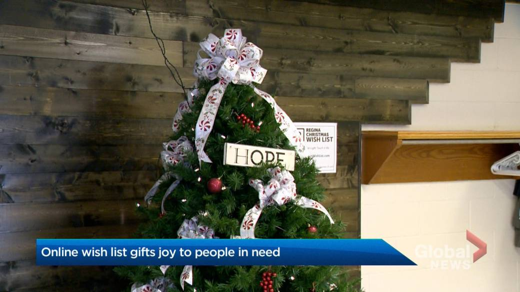 Regina Christmas Wish List connects people in need with generous strangers