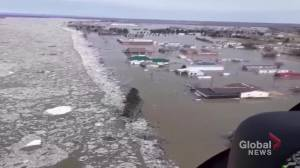 Peace River ice jam triggering worst flood since 1934 in northwestern Alberta