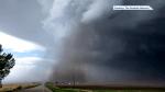 Severe storm, tornado damage areas south of Calgary
