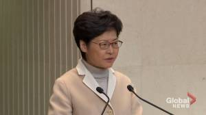 Recent peaceful Hong Kong protest 'reflects the freedoms that Hong Kong people are enjoying': Carrie Lam