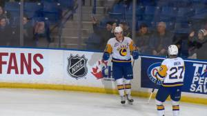 Mid-season review with Saskatoon Blades captain Chase Wouters