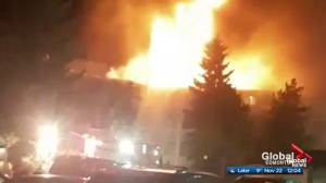 Smoking to blame for $3.7M south Edmonton apartment fire
