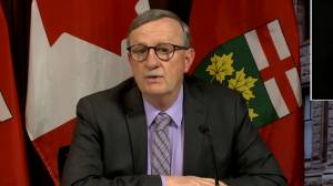 Coronavirus: Williams responds to report that Ontario's LTC minister kept virus concerns in-house (01:57)