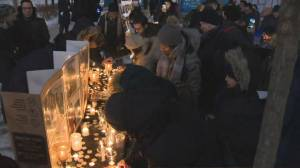 Vigil held in Montreal for Iran plane crash victims